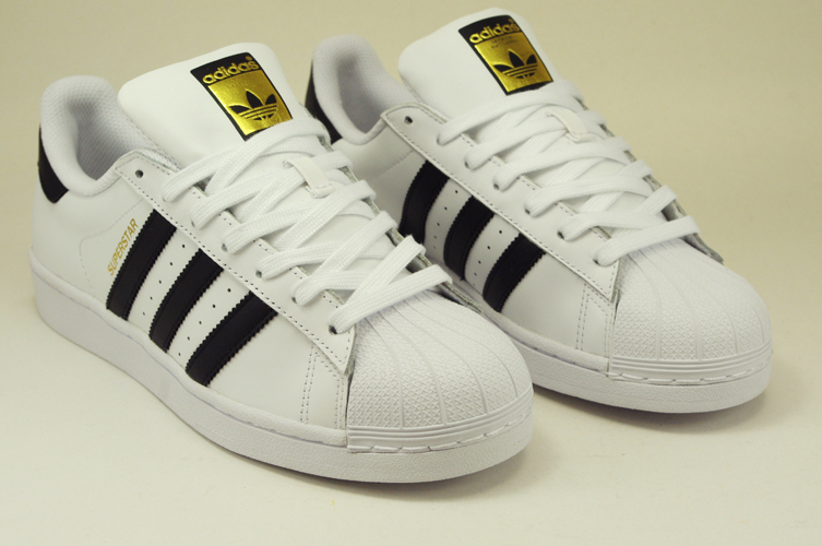 ... promo code adidas superstar c77124 white black leather lace up 11cd8  dd6ae a0637d143f